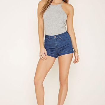 Square-Neck Ribbed Knit Cami | Forever 21 - 2000169142