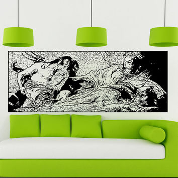 Vinyl Wall Decal Sticker Neptune Tiepolo Painting #5399