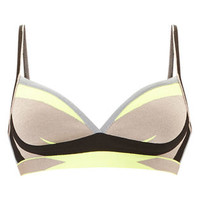 Lyyti Engineered Colorblocked Bikini Top