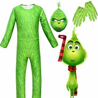 The Grinch Costume Kids Boys  Costumes