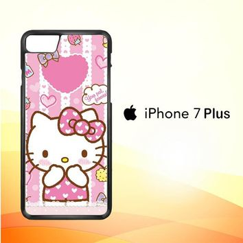 Hello Kitty Candy Pink L1944 iPhone 7 Plus Case