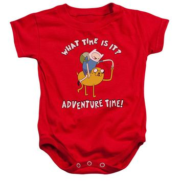 Adventure Time - Ride Bump Infant Snapsuit Officially Licensed Baby Clothing