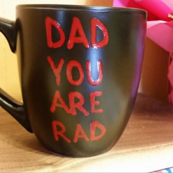 Coffee/Tea/Cup/Mug/Custom/Personalized/Funny/Dad you are rad./ Father's Day/Funny mug/Birthday gift/Funny gift