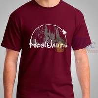 Harry Potter Hogwarts disney Castle T Shirt - Mpcteehouse