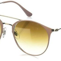 VONEXO9 Ray-Ban Women's Round Browbar Sunglasses