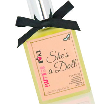 SHE'S A DOLL Fragrance Oil Based Perfume 1oz