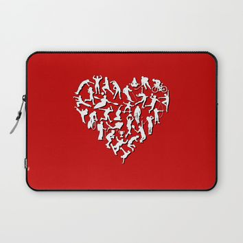 I Love Sports (v2) Laptop Sleeve by Savousepate