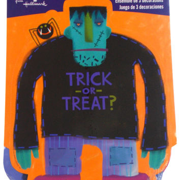 Hallmark Party Express Halloween Trick or Treat Decorations Lot 3 Packs