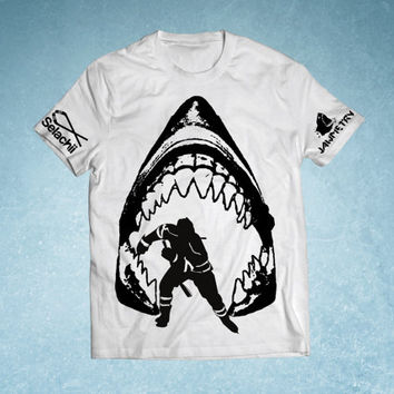 San Jose Sharks Shark Jaws Shirt