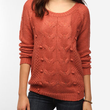 Pins and Needles Bobble Knit Sweater