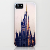 Cinderella's Castle iPhone & iPod Case by Julianna Rae