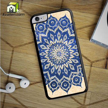 Sky Floral Mandala 2 iPhone 6S Plus case by Avallen