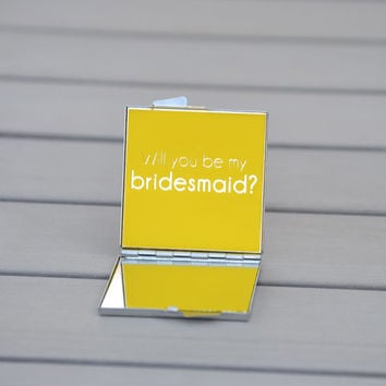 Will you be my bridesmaid? | Unique bridesmaid gift | Customizable wedding party gift | Bridesmaid proposal | Bridesmaid gift box
