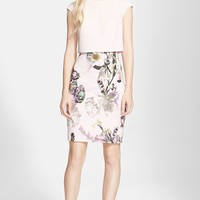 Women's Ted Baker London 'Moline Torchlit' Layered Dress,