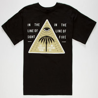 Us Versus Them No Eyes On Us Mens T-Shirt Black  In Sizes