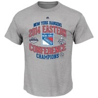 Majestic New York Rangers 2014 Eastern Conference Champions Tee - Boys 8-20