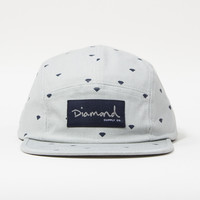 Trilliant 5-Panel Camp Hat in Grey