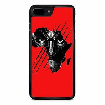 black panther red iphone 8 Plus Case