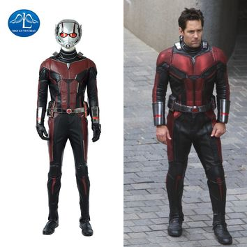 Hot !Superhero Movie Ant-man Cosplay Costume Accessories Shoes Boots Custom-made