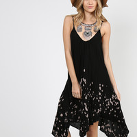 Spot Me Asymmetrical Dress - Small