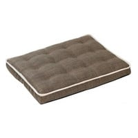 MicroLinen Luxury Dog Crate Mattress Pad — Driftwood