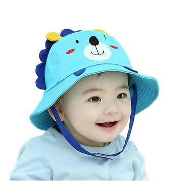 Cute Baby Sun Hat Girls Hats Cap Newborn Photography Props Boys Hats Children Cap Kids Beach Bucket Caps for Summer Autumn