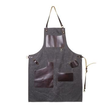 RUSTICO JOURNEYMAN WAXED CANVAS APRON