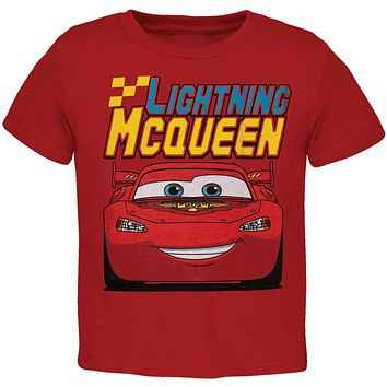Cars - Lightning McQueen Toddler T-Shirt