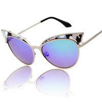 Vintage Stylish Sexy Cats Uv Proof Sunglasses [4915041156]