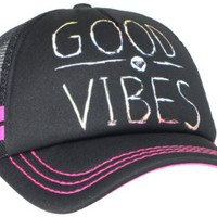 Roxy Juniors Dig This Hat, Black, One Size