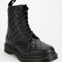 Dr. Martens Coralie Quilted 8-Eye Boot- Black