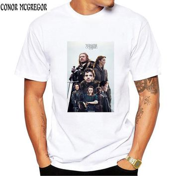 Funny Game Of Thrones T Shirt Jon Snow Tyrion Mother of Dragons Arya Stark Drogo Geek T-shirt Seven Kingdoms Top Men Tee Shirts
