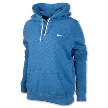 Nike Rally All Over Dot Pull Over Women's Hoodie
