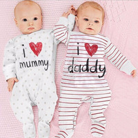 Fashion Newborn clothesBaby rompers boy Romper branded Newborn baby clothes jumpsuit long Sleeve Baby boy Clothes christmas
