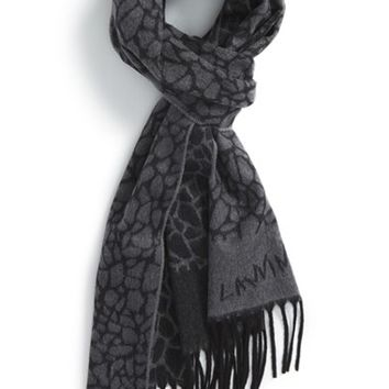 Men's Lanvin Cashmere Scarf - Grey