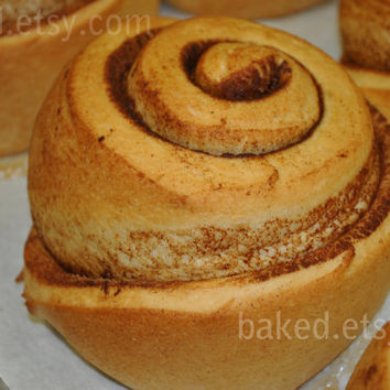 Fresh Cinnamon Rolls with Cream Cheese Frosting