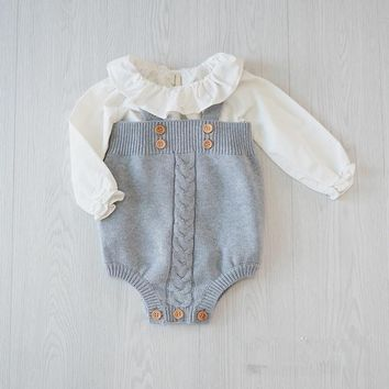English Formal Infant Baby Romper