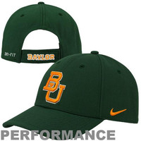 Baylor Bears Nike Performance Dri-FIT Classic Adjustable Hat – Green