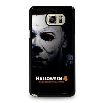 MICHAEL MYERS HALLOWEEN 4 Samsung Galaxy Note 4 Case Cover