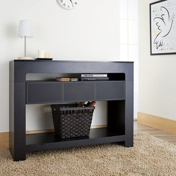 Furniture of America Arroya Modern Black Console Table | Overstock.com Shopping - The Best Deals on Coffee, Sofa & End Tables