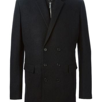 Juun.j Layered Double Breasted Coat