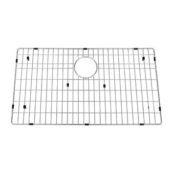 DAX-GRID-SQ3621 / DAX GRID FOR KITCHEN SINK, STAINLESS STEEL BODY, CHROME FINISH, COMPATIBLE WITH DAX-SQ-3621, 32-1/2 X 15-1/2 INCHES