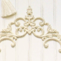 Cast Iron Scrolled Door Topper - Choose Your Color - Colorful Cast and Crew