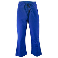 Stretch Belt Blue Women's Scrub Bottoms