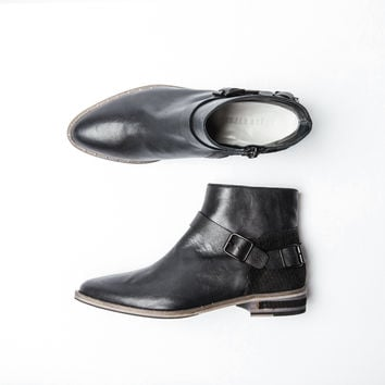 Steer Belted Ankle Boot