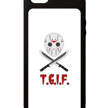Scary Mask With Machete - TGIF iPhone 5C Grip Case