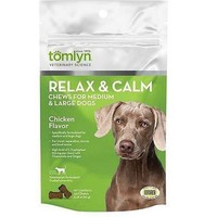 Tomlyn Relax & Calm Chews Med-Lg Dogs 45ct