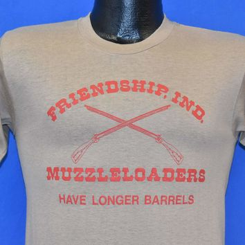 70s Friendship Indiana Muzzleloaders t-shirt Small