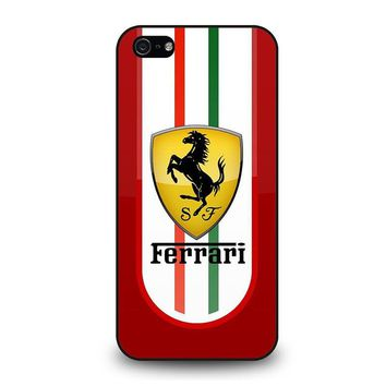 FERRARI iPhone 5 / 5S / SE Case Cover