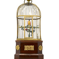 Coin-Operated Singing Bird Cage Automaton - Recent Acquisitions | M.S. Rau Antiques